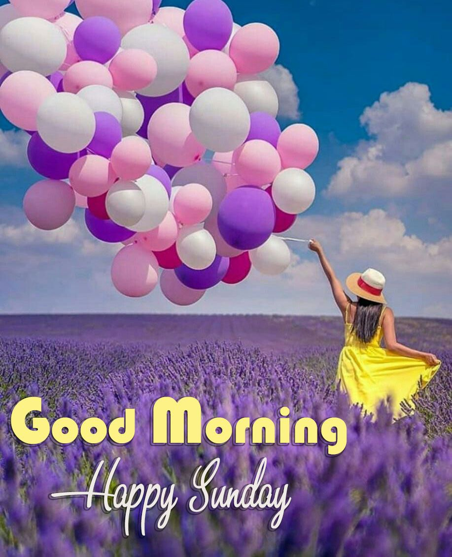 balloon happy blessed sunday images