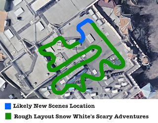 Snow White's Scary Adventure's Layout Changes 2020 Disneyland