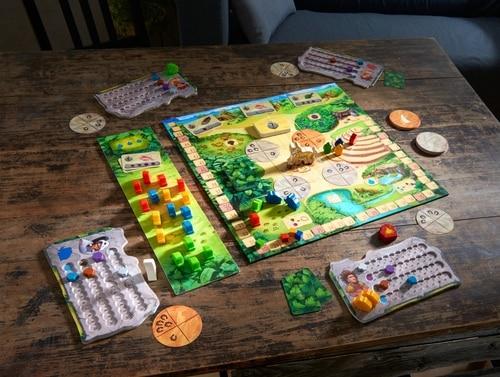 Trend Mark Orange Tree Toys Mini Puzzle Bambino Gioco Pirata Foresta Safari Legno Nuovo Infanzia E Premaman