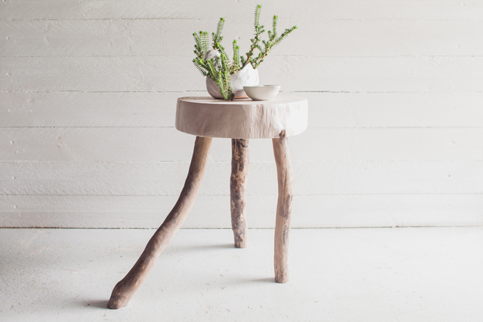 Wooden Stool Design
