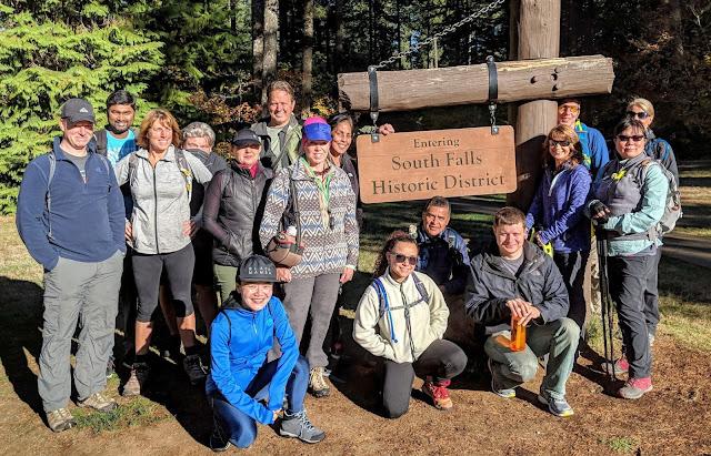 Silver Falls State Park Trail-head