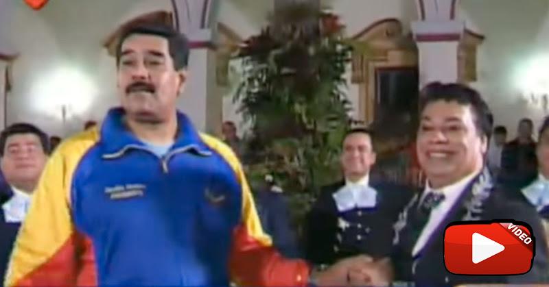 Maduro detiene los 7 motores económicos por dos horas para ver la serie de Juan Gabriel