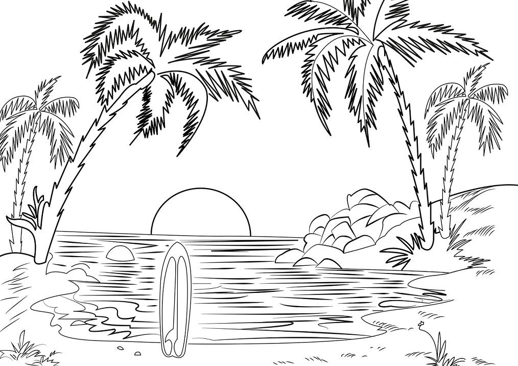 Inilah Gambar Sketsa Hitam Putih Mewarnai Wortel Terbaru Auto