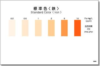 Test thử sắt (Fe) - Kiểm tra nhanh hàm lượng sắt (Fe) - test nhanh kyoritsu - test nhanh cod