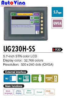 Đại lý bán màn hình Hmi Fuji UG230H-SS4
