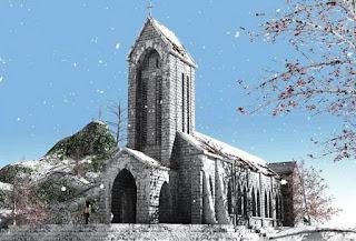 Nhà thờ đá cổ Sapa