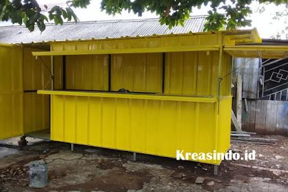 Jasa Pembuatan Booth Semi Container Bandung dan sekitarnya Harga Bersaing