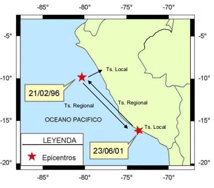 Se denomina Tsunami regional, cuando la fuente de generación del mismo se encuentra entre 100 y 1.000 km del punto de observación.