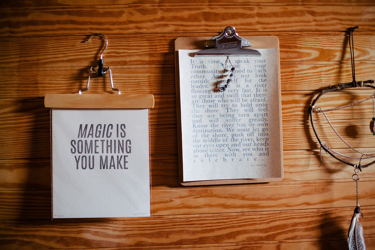 Magic Is Something You Make | Amazing Quotes | HNQuotes