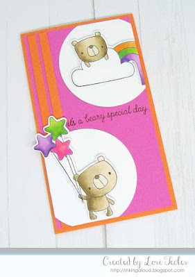 Beary Special Day card-designed by Lori Tecler/Inking Aloud-stamps from Reverse Confetti