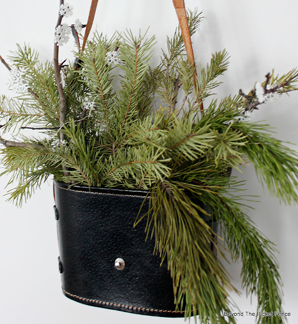 Winter Decor From the Thrift Store and Nature