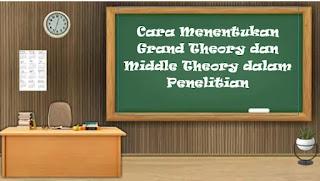 Cara Menentukan Grand Theory dan Middle Theory dalam Penelitian