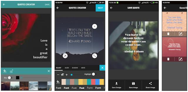Deretan Aplikasi Terbaik Untuk Membuat Quote dan Kata Bergambar Di Instagram