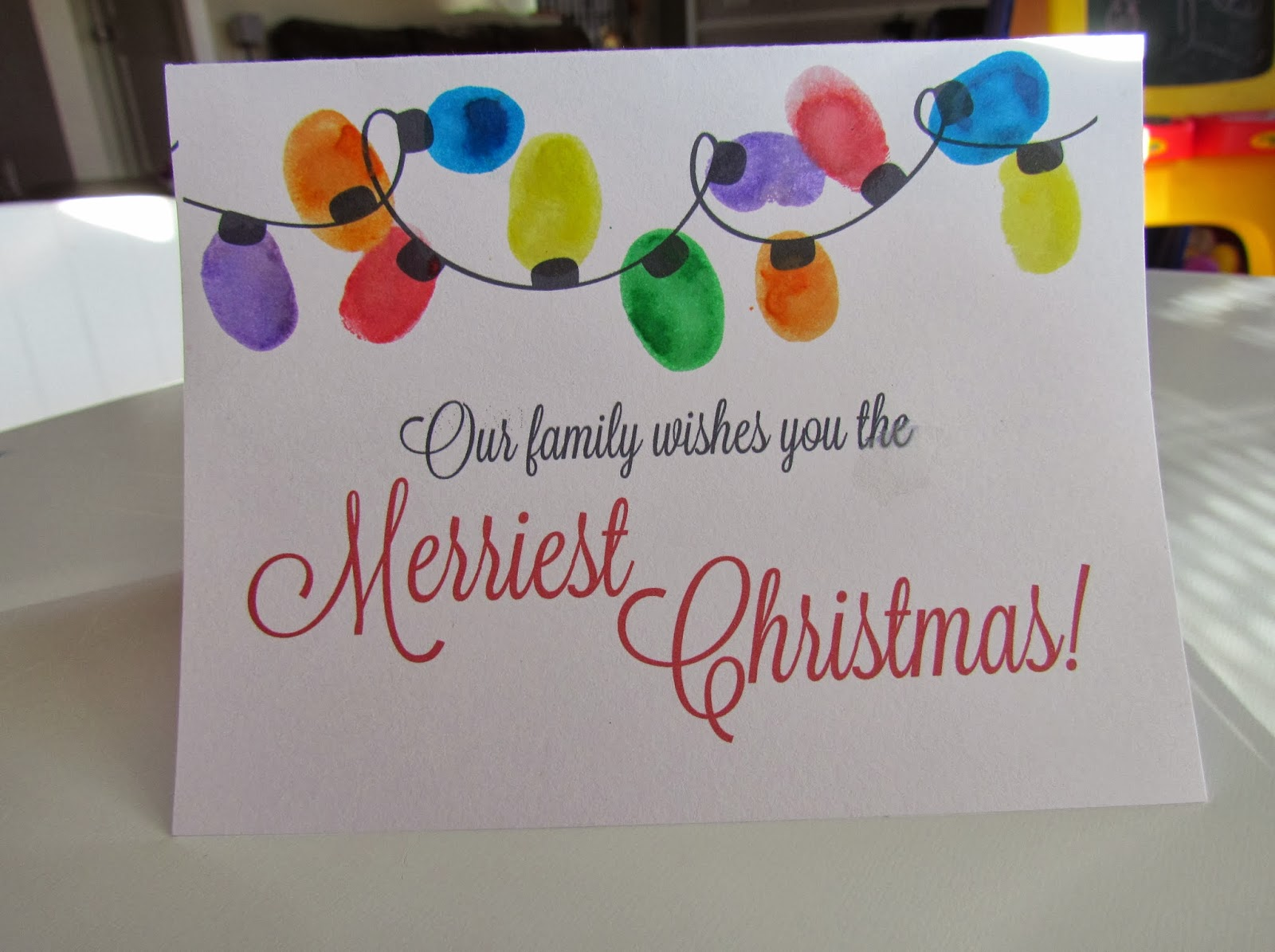 Creative Corner Make Beautiful Christmas Cards With Your Kids A