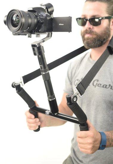 Glide Gear Geranos 3 Axis Gyro Motorized DSLR & Mirrorless Camera Stabilizer