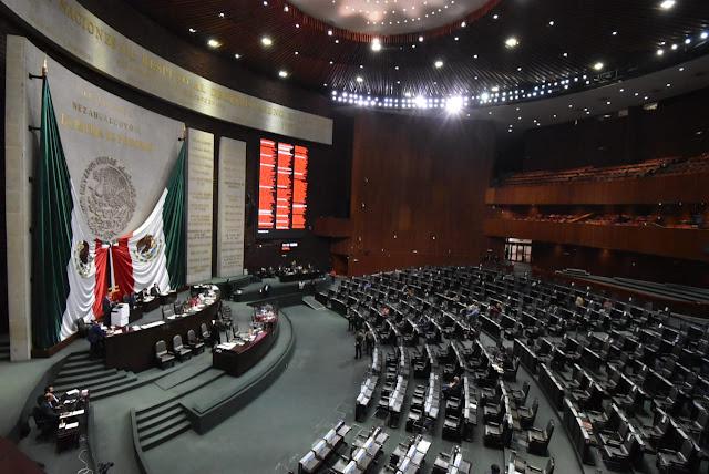 El Pleno de la Cámara de Diputados aprobó 87 dictámenes con puntos de acuerdo