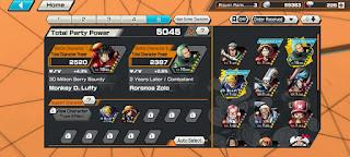 Menambahkan Karakter Support di Game One Piece Bounty Rush