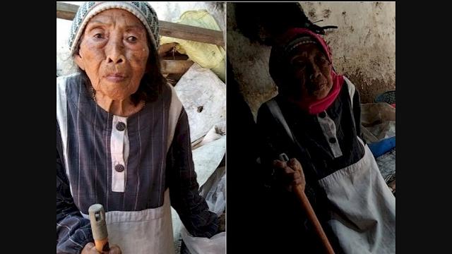 Cuma Dapat Rp15 Ribu Per Bulan, Nenek Pemulung Ini Makan Nasi Berkuah Air Hujan