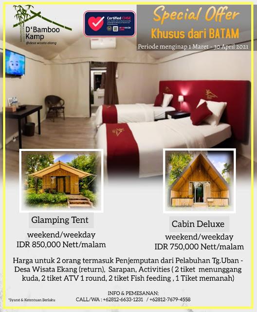 Promo kamar  D' Bamboo