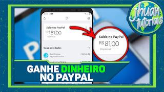 NOVO APLICATIVO PARA GANHAR DINHEIRO NO PAYPAL 2020