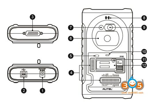 xp400-порта и слот-