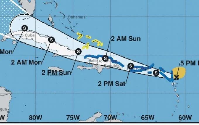 El país se prepara para la tormenta Laura; Abinader dispone plan emergencia