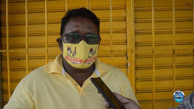 """Comerciantes reclamam """"Não conseguimos trabalhar com o decreto do Governo do Estado"""""""