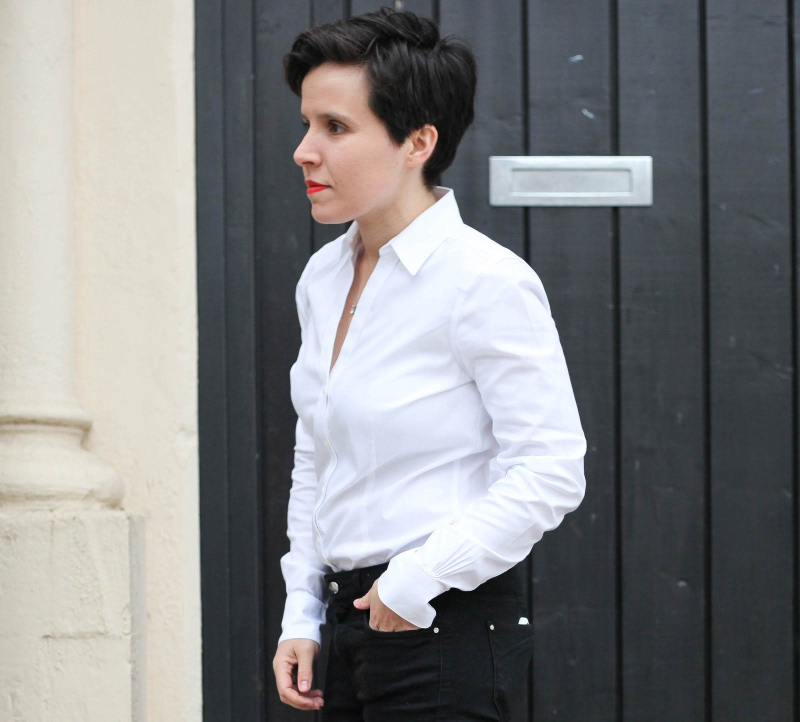Side Street Style Styling The Perfect White Shirt