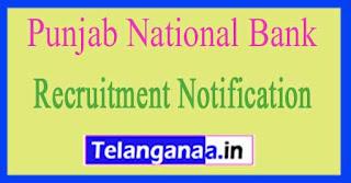 PNB (Punjab National Bank) Recruitment Notification 2017
