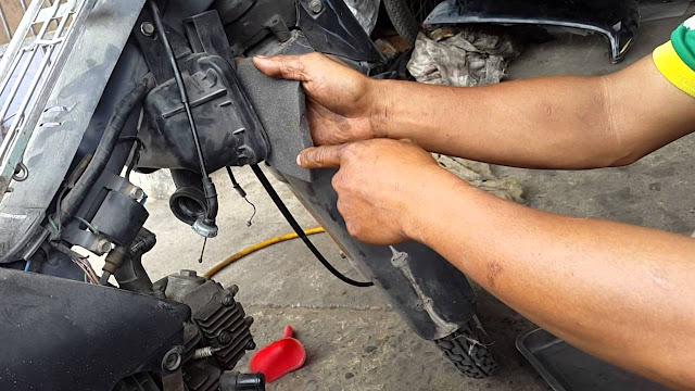 Phục hồi bình xăng con xe Honda Wave, canh chỉnh tiết kiệm xăng tại TPHCM