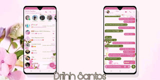 Flowers & Nature Theme For YOWhatsApp & Fouad WhatsApp By Driih Santos