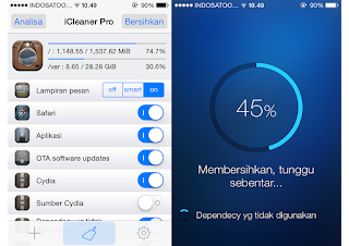 Icleaner PRO for IPhone and Ipad Jailbreak