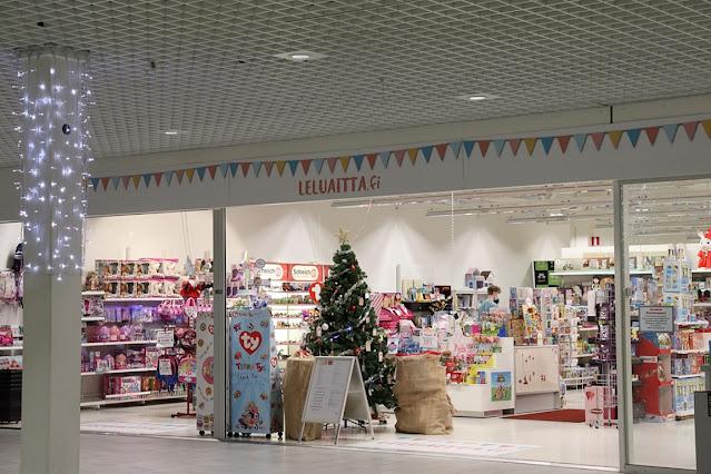 ideapark oulu, shoppailu, jouluostokset, joulunparasidis, joululahjat, kauppakeskus