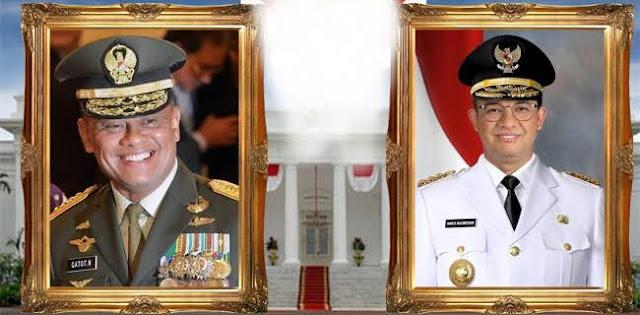 Usai Prabowo Afiliasi Jokowi, Siapa Simbol Perlawanan Baru, Gatot, Anies?