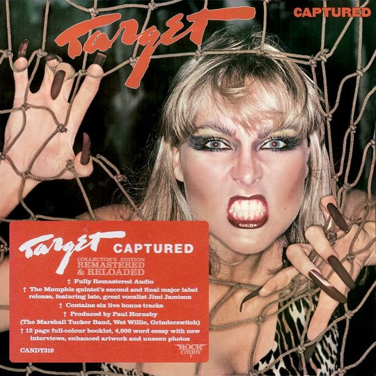 TARGET (Jimi Jamison) - Captured [Rock Candy remastered +6] (2016) full