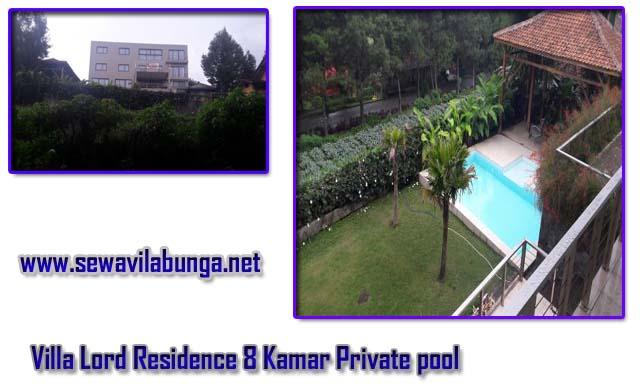 Villa terbaik untuk gatherig di lembang fasilitas kolam renang