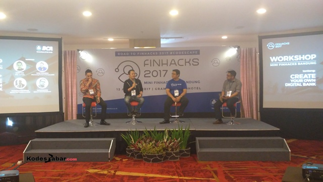 Talk Show Mini Finhacks Bandung