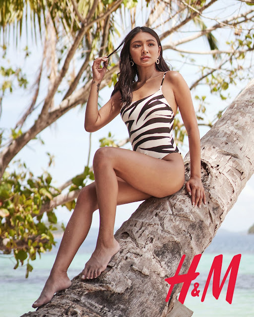 Nadine Lustre for 2020 H&M Swim Essentials