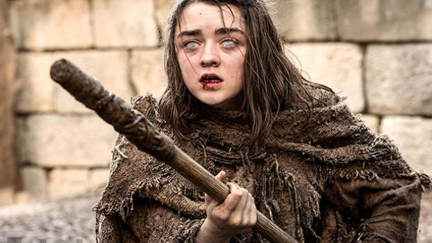 arya, season 6, red woman, blind, begger