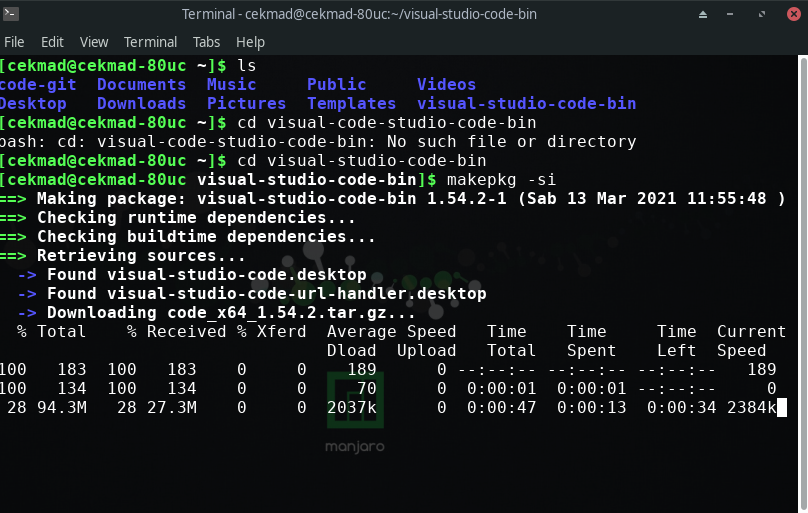 proses install editor visual studio code