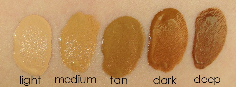Pur Minerals Hydra Fluid Water Serum Foundation | My Notes Swatches notesfrommydressingtable.com