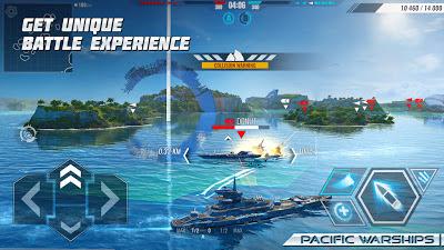 تحميل لعبة Pacific Warships v0.9.77 كاملة للأندرويد