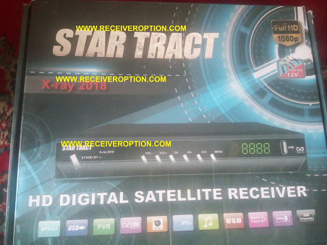 STAR TRACT X-RAY 2018 HD RECEIVER POWERVU KEY OPTION