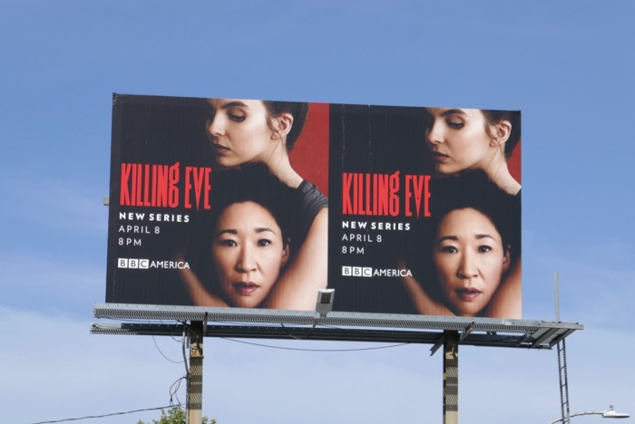 Killing Eve season 1 billboard