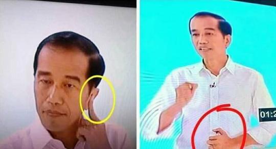 Soal Kabar Jokowi Pakai Alat Bantu Komunikasi saat Debat Kedua, Timses Beri Bantahan