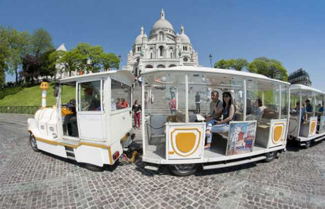 Paris Montmartre City Train Tour