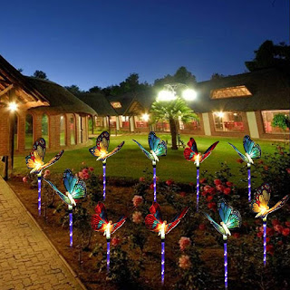 Solar path lights for your garden