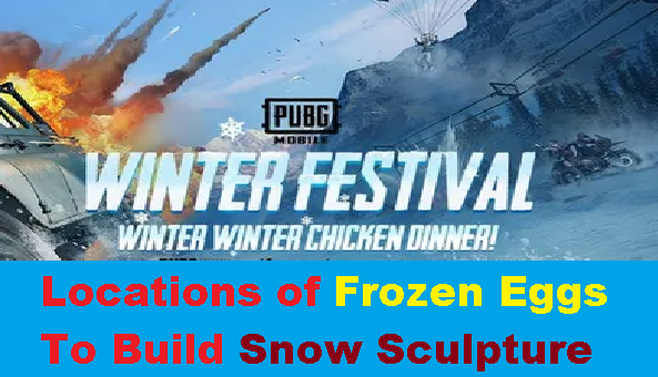 How to Get Frozen Eggs to build Snow Sculpture