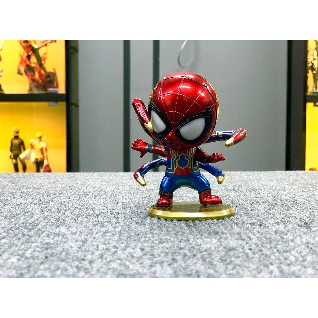 Mô hình iRon Spider Man Chibi (Có LED) Avengers 3