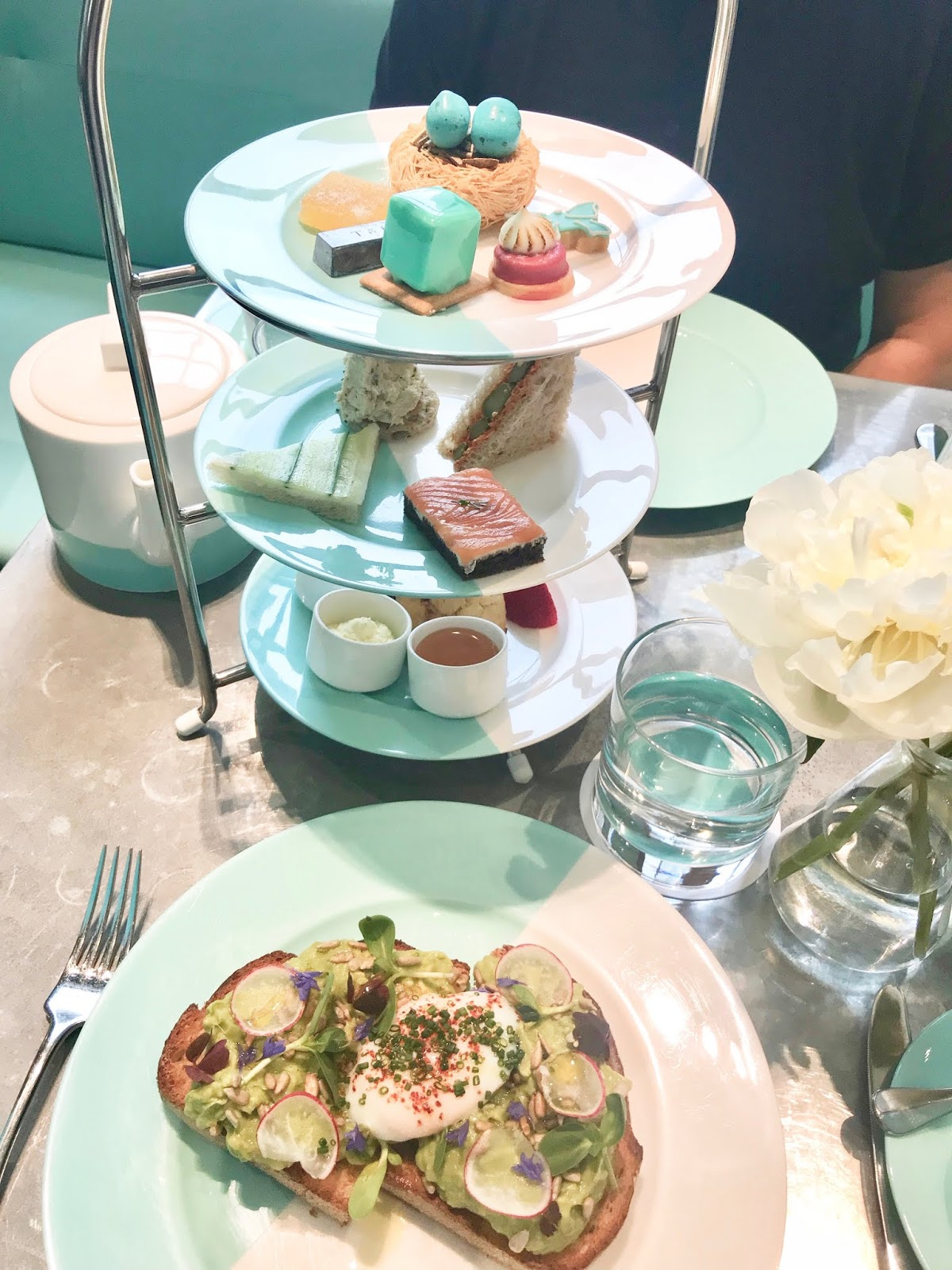 Afternoon tea at Tiffany's